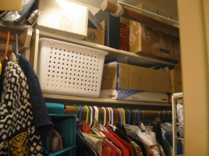 Closet Shelf - After